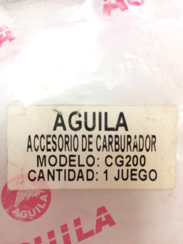kit carburador jaguar 200