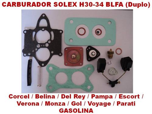 kit carburador solex blfa ford gm vw gasolina