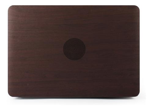 kit carcasa case tono madera 5 en 1 macbook air pro touch