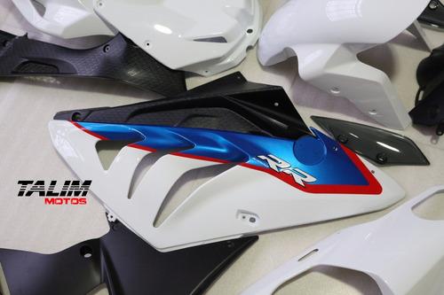 kit carenagem bmw s 1000rr 2012-2014 tricolor 1* linha