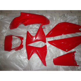 Kit Carenagens Yamaha Xtz 125 Vermelha Original 09/14