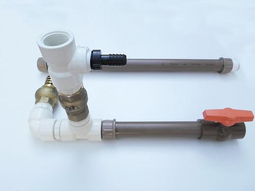 kit carneiro hidraulico 3/4 globo rural bomba d'agua caseira
