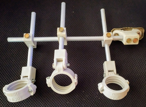 kit carona para antenas 3 lnb ku  70w 63w 61w 58w