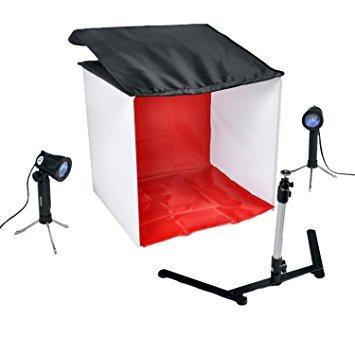 kit carpa cowboystudio de mesa foto de la luz en una caja