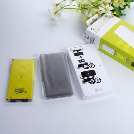 Kit Carregador Bateria Hibrido Lg G5 Power Bank