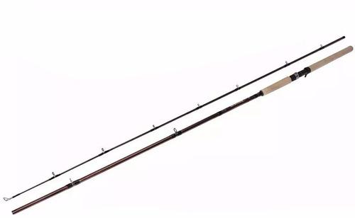 kit carretilha ninja 9000 + vara sucuri 2,40m/ 2,70m 50/70lb