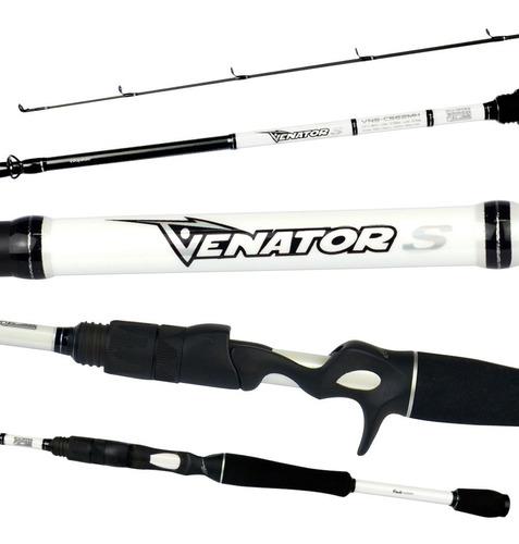 kit carretilha venator s vara venator s 1,83m 12-25 lbs 2p