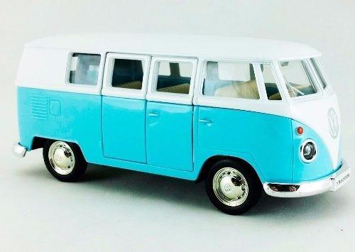 kit carrinho miniatura kombi + fusca coleção original