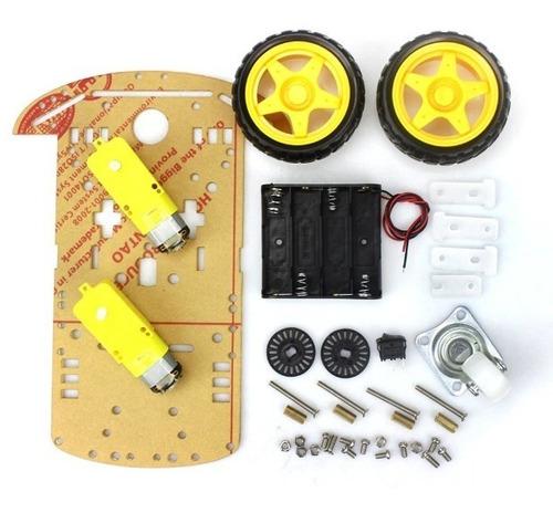 kit carro montar arduino robotica eletrôncia projetos