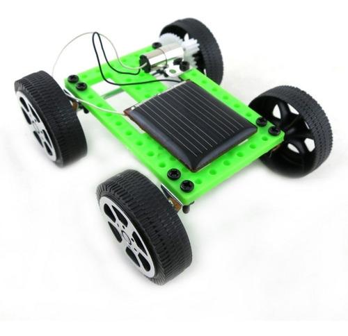 kit carro solar juguete niño educativo completo
