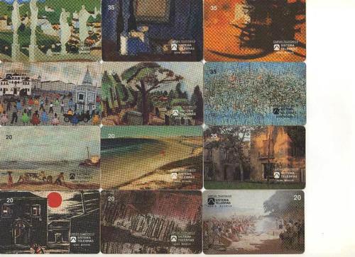 kit cartões telefônicos
