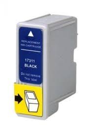 kit cartucho compatível epson to17 (preto) + to18 (color)
