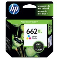 kit cartucho hp 662xl bk e 662xl color original