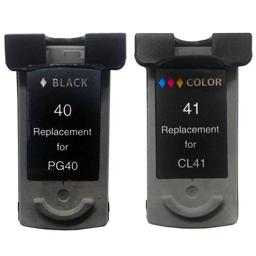kit cartucho tinta pg40 cl41 p1200 ip1300 ip1600 mp150 mp450