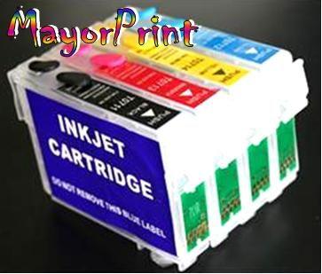 kit cartuchos recargables llenos tx560wd t42wd tx620 tx235