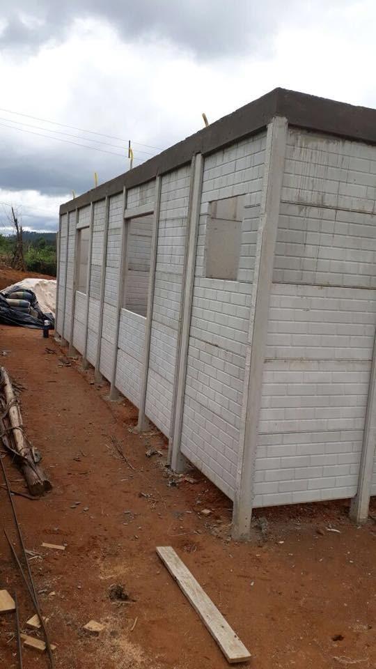 Kit casa pr fabricada 68mt2 cbh s o paulo r for Como pintar puertas placas nuevas