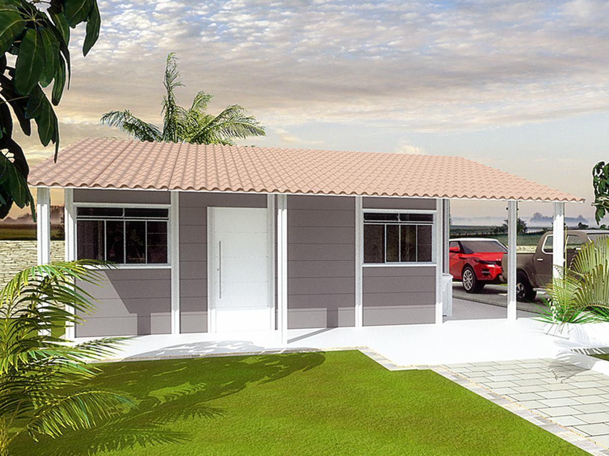 Kit casa pr fabricada moldada de concreto r for E casa com
