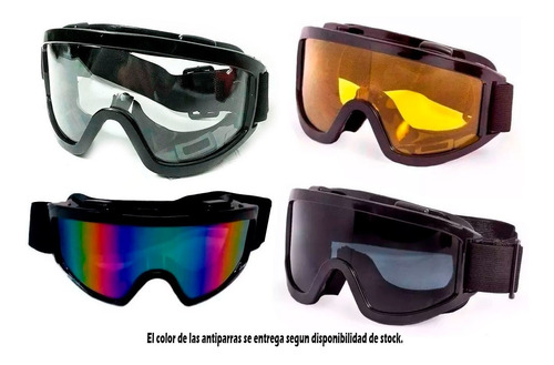 kit casco cross h5 mx road + antiparra + guantes sti motos