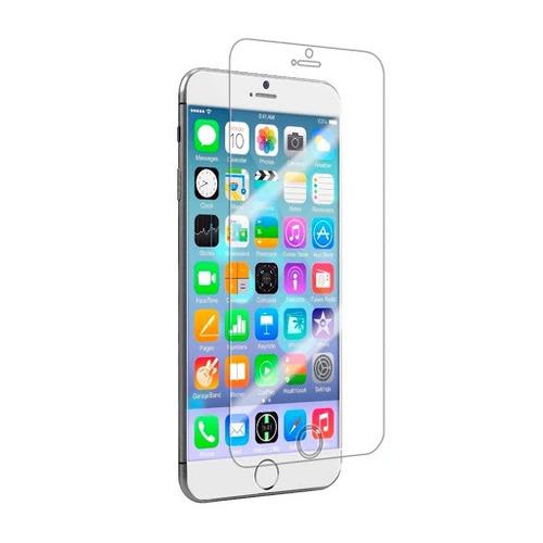 kit case transparente + suporte ar + pelicula iphone 6 plus