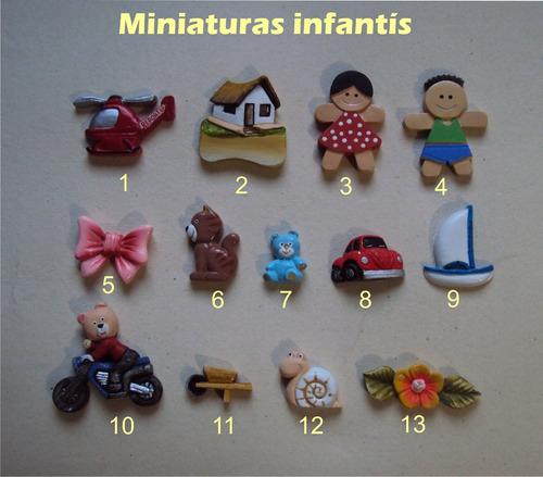 kit casinhas em miniaturas coloridas para apliques(10 peças)