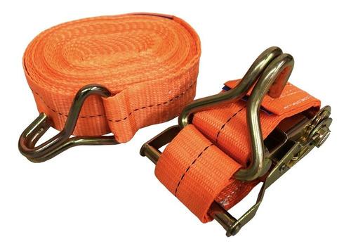kit catraca + cinta amarração 1,5 ton 9 metros rabicho carga