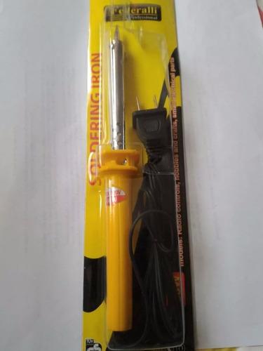 kit cautin mango plástico 60w y extractor soldadura 12 unid