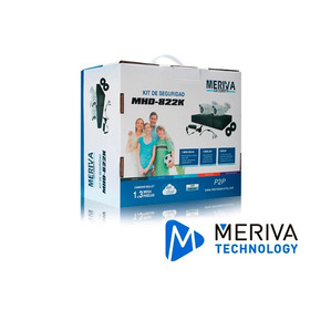 Kit Cctv 2 Camaras Ahd 1.3 Mp 2200 Tvl Dvr Digital.