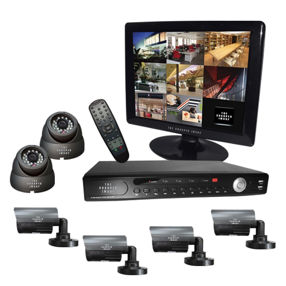 Circuito Cerrado : Kit cctv camaras video vigilancia circuito cerrado