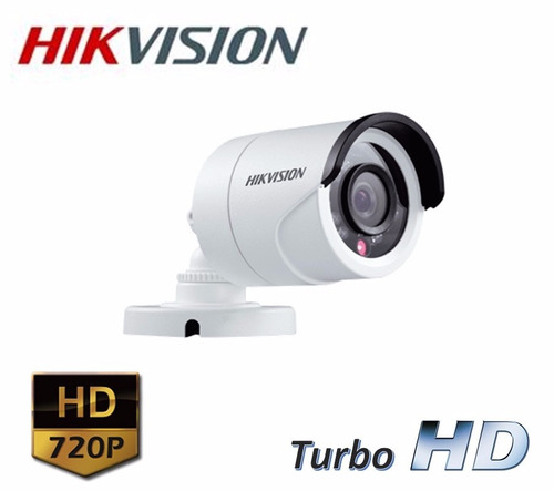 kit cctv dvr hikvision 8 ch +4 domo bala hd +disco -04307