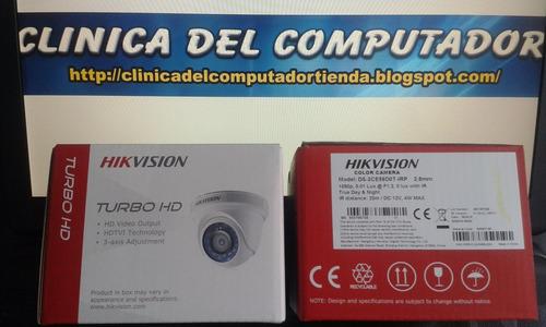 kit cctv full hd 1080p 8 cámaras vigilancia hikvision + dvr