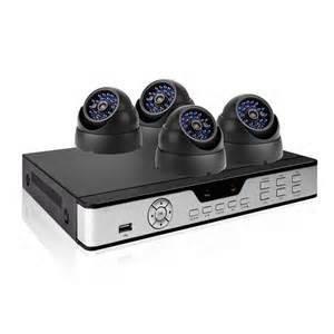 kit cctv zmodo 8 canales+4 camaras+1 dvr+accesorios