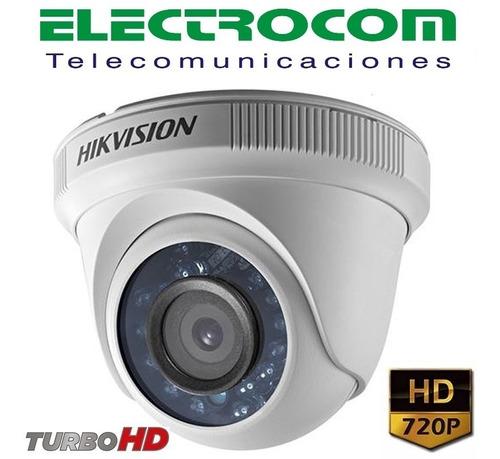 kit cctvhikvision 8 canales c/4 cámaras hd  cables y fuente