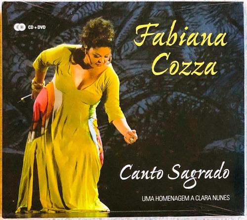 kit cd + dvd fabiana cozza canto sagrado (2013) lacrado raro