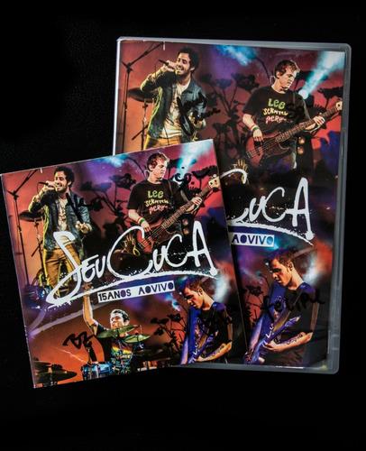 kit cd + dvd seu cuca 15 anos ao vivo -  c/ frete grátis