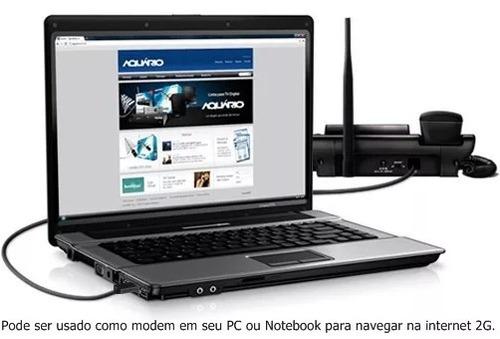 kit celular rural mesa ca900 aquário telefone /cabo/antena