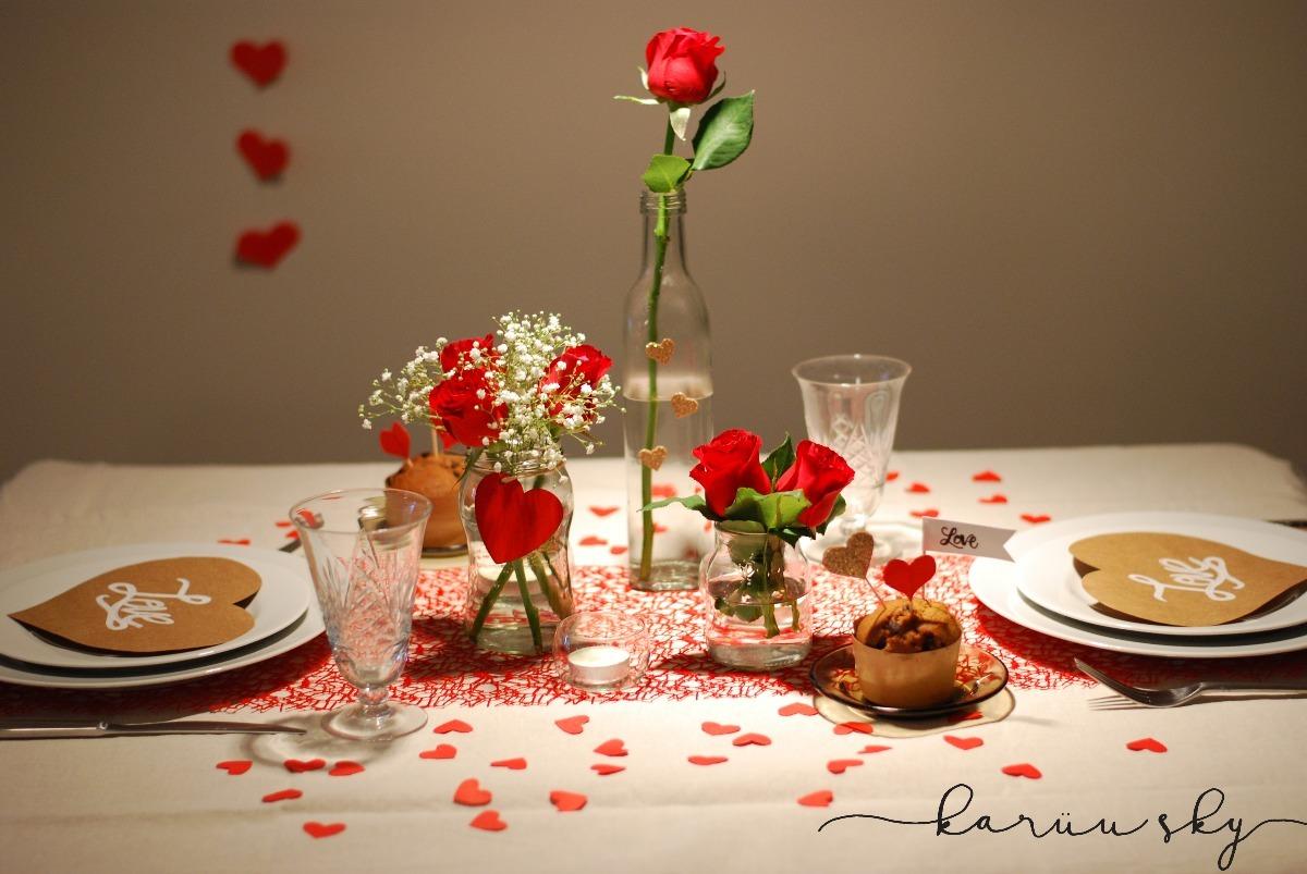 Kit Cena Romantica Combo Decoracion Mesa 55000 En Mercado Libre - Cena-romantica-decoracion