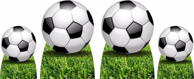 Kit Cenário Display De Chão Futebol Bola Com 4 Peças - R  129 f8f1ce8e2cece