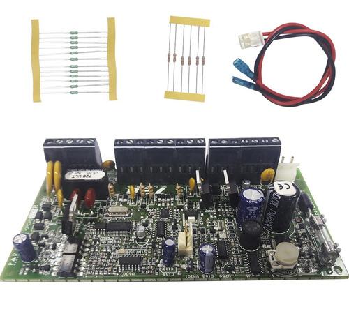 kit central alarme 728ult 10 zonas + teclado 636pt paradox