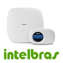 kit central de alarme monitorada intelbras  com 10 zonas