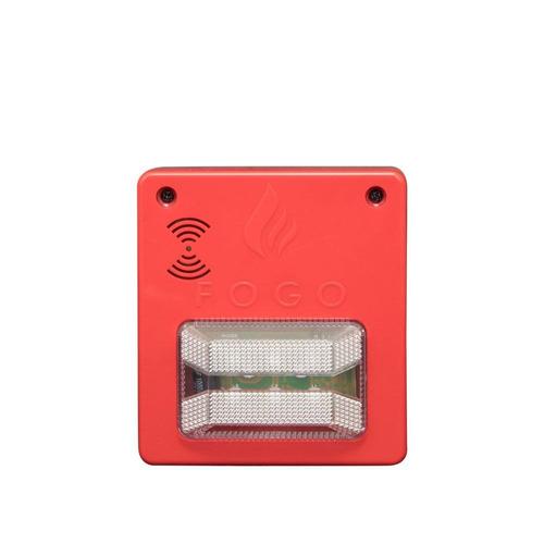 kit central incêndio 12 setor +10 detectores +1 sinalizador