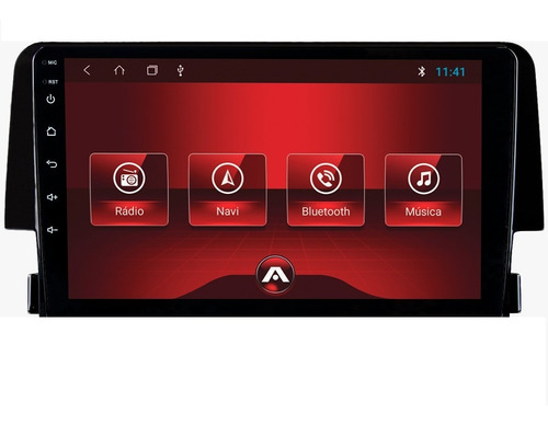 kit central multimidia civic g10 android aikon tv