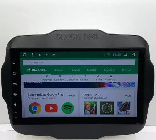 kit central multimidia renegade pcd android aikon atom c/tv