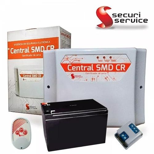 kit cerca elétrica gcp setor alarme + bateria