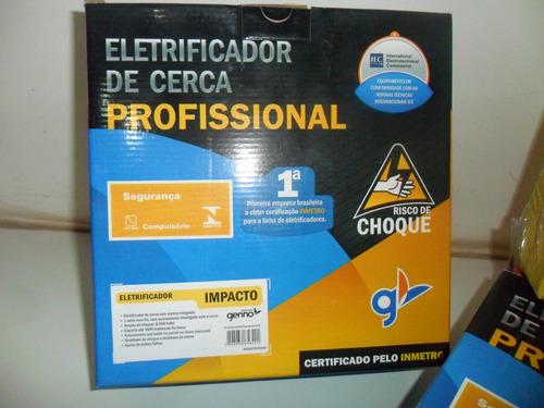 kit cerca eletrica150 mts c/alarme - haste 6 isoladores