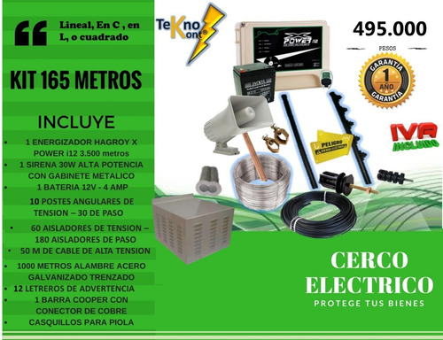 kit cerco electrico