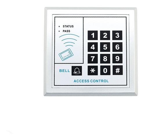 kit cerradura electromagnetica acceso fuente boton llaveros