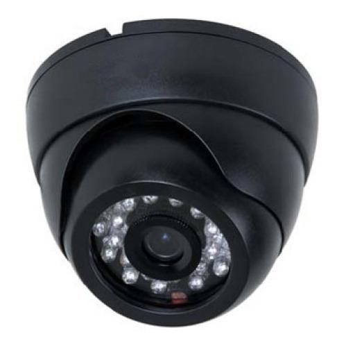 kit cftv 10 câmeras dome interna com ir-cut 1200 linhas