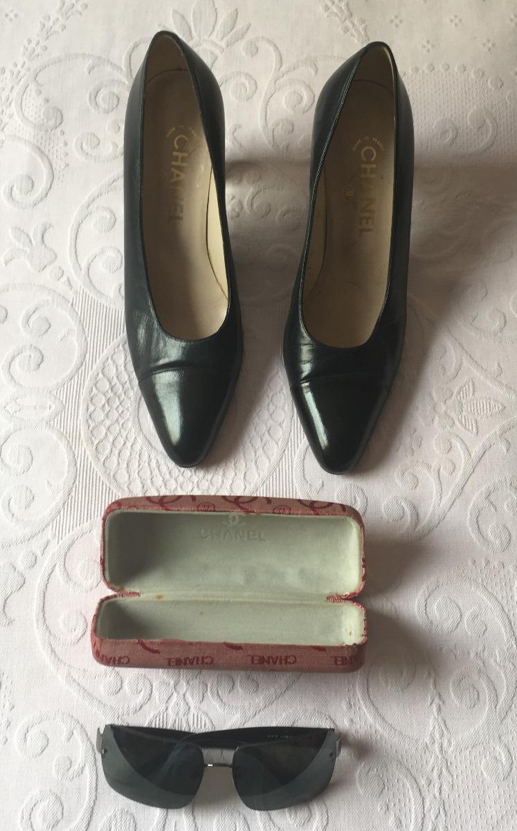 a7db240ea Kit Chanel Com 3 Pares De Sapato E Um Oculos - R$ 3.500,00 em ...