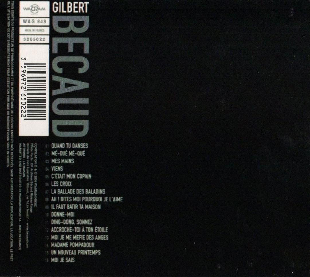 Kit Chanson - Dalida, G  Becaud, G  Brassens, C  Aznavour
