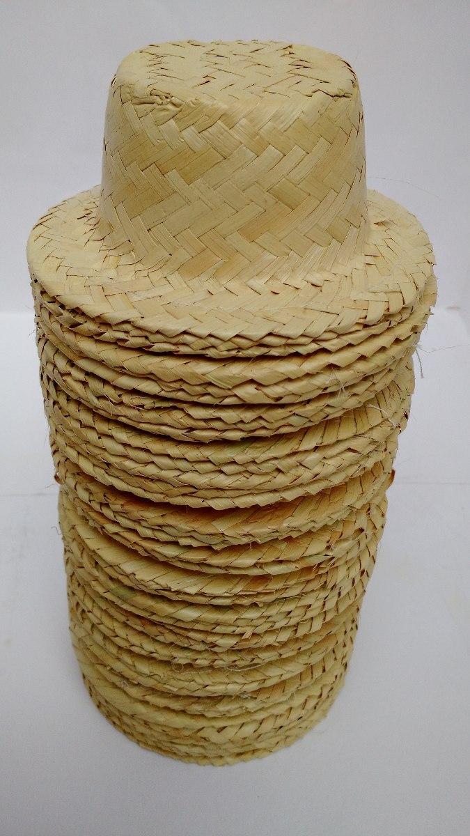 kit chapéu de palha boneca festa junina caipira 80 unidades. Carregando  zoom. 98c7abe14b8